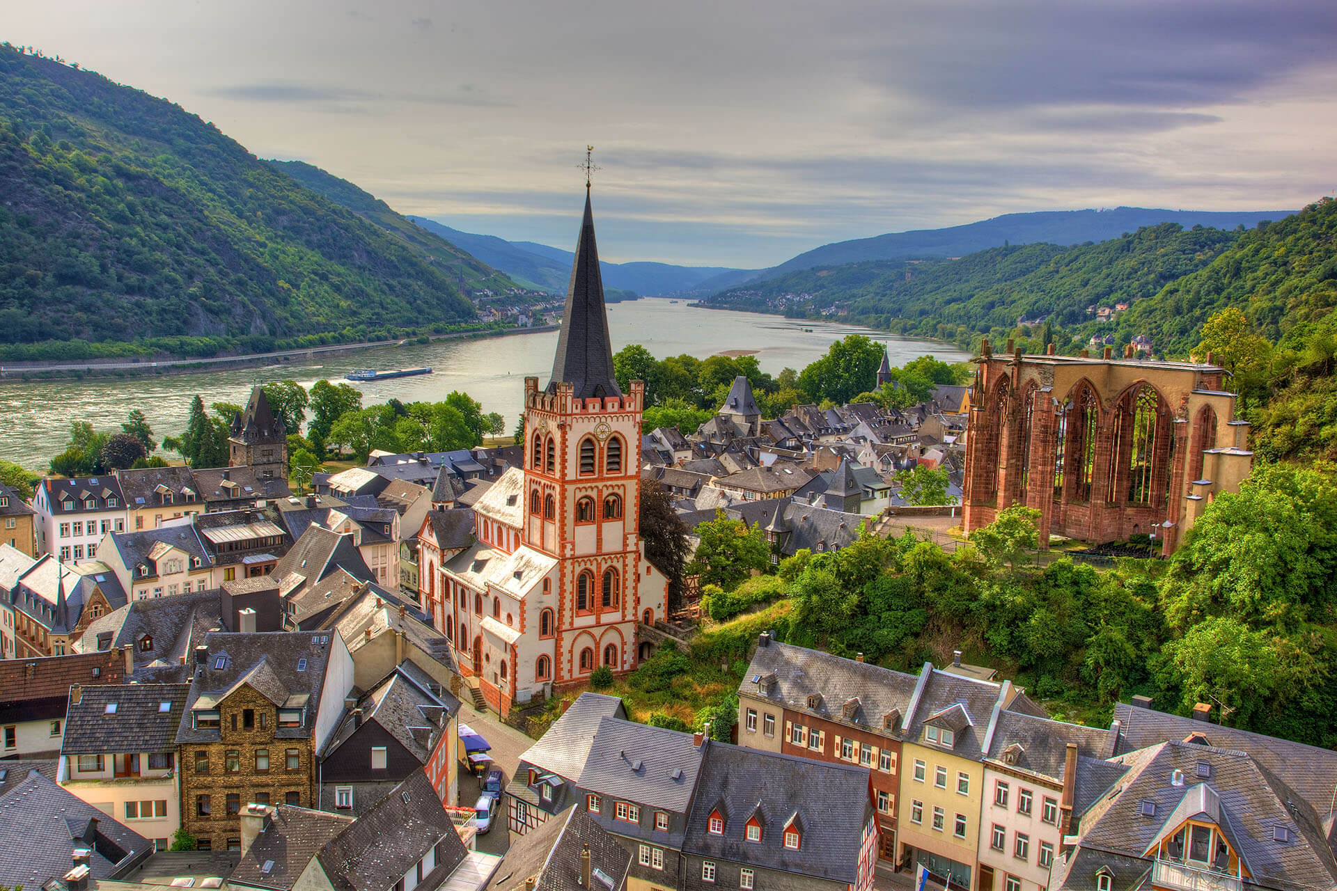Bacharach from the Postenturm